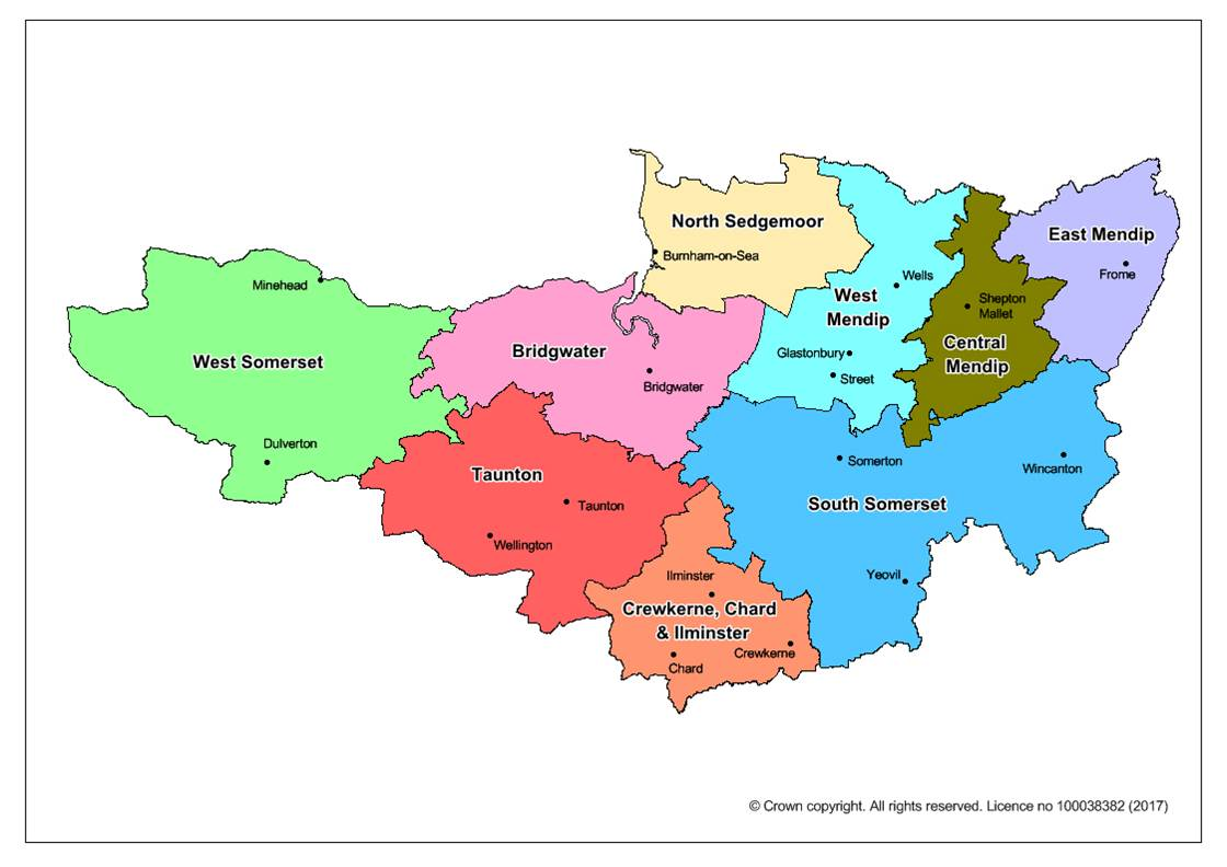 GP Commissioning Locality Map